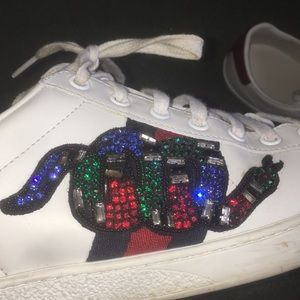 1e34f3cb058 Gucci Shoes - Men s or Women s Ace Embroidered Sneaker (Gucci)